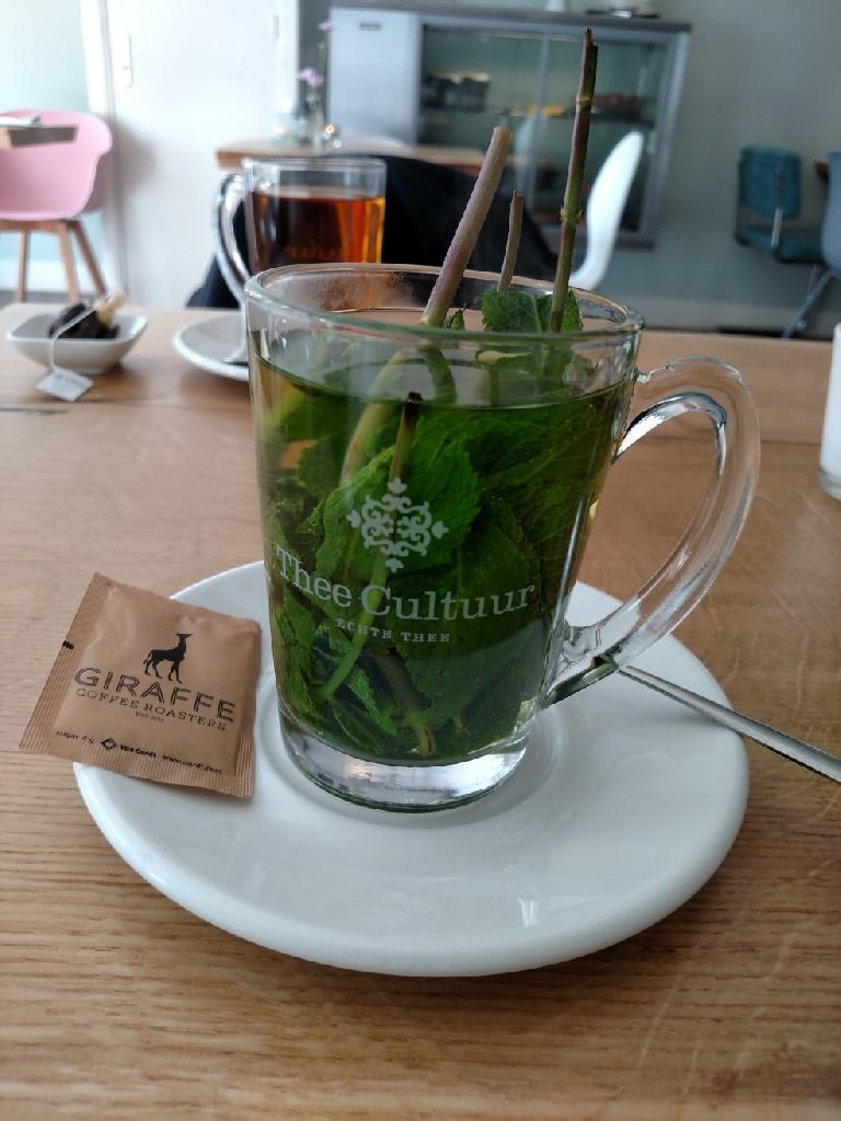 2017.04.20 Fresh mint tea