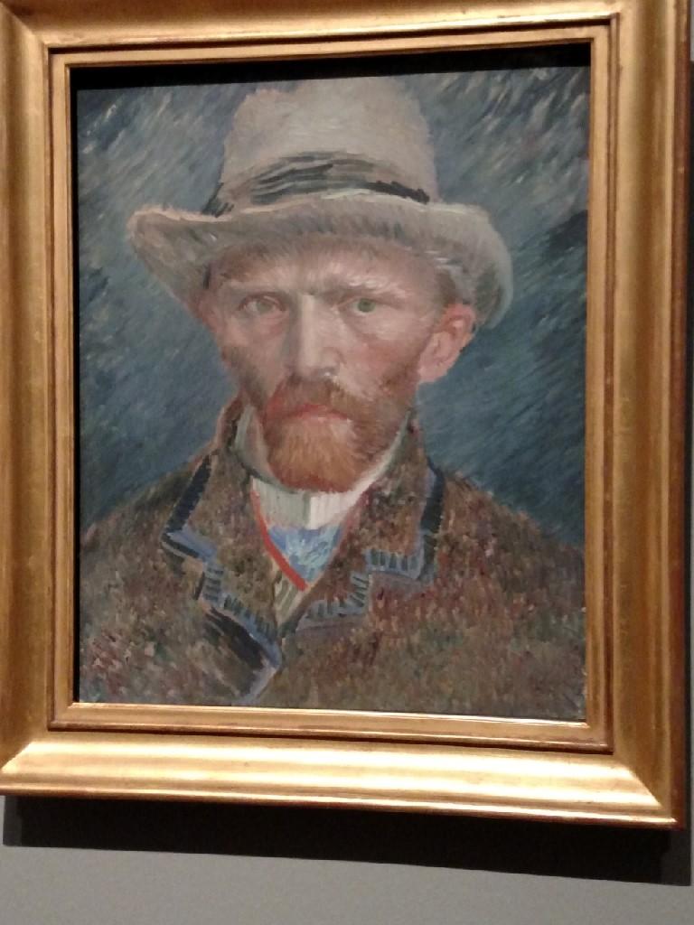 2017.04.21.4 Van Gogh Self-Portrait