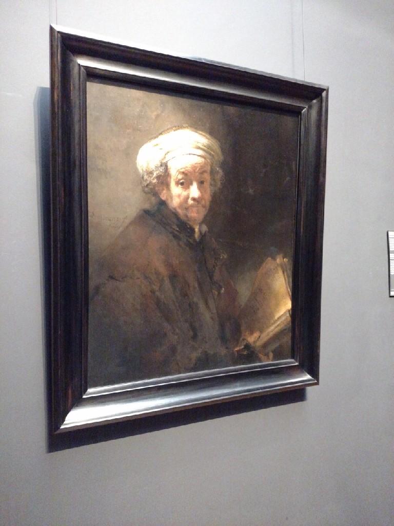 2017.04.21.5 Rembrandt as Apostle Paul